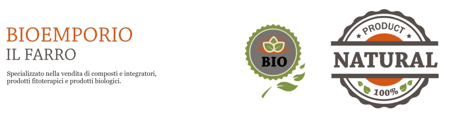 Specializzato nella vendita di composti e integratori, prodotti fitoterapici e prodotti biologici.