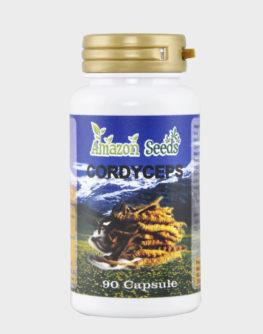 Compresse di estratto cordyceps 320 mg amazonseeds 90 pz